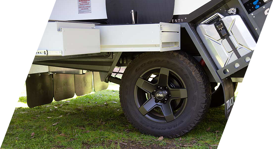 "A view of the Tvan Zenith 17"" CSA alloy wheels with prmium tyres fitted"