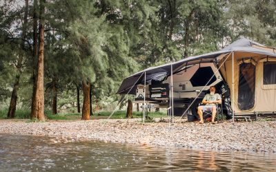How to set up the TVAN Camper Trailer in 6 Steps